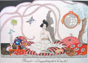George Barbier Minuit ou lappartement a la mode