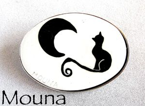 Broche Chat noir 3 DISPONIBLE: 15 euros.