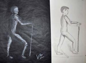 dessin croquis ombre & lumiere Atelier de Flo 2