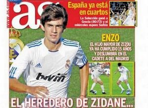 Enzo Zidane Une AS 05-09-2010
