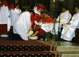 Lavement des pieds Pâques 2011 (1)