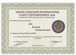 2014-05-29 Prix du mérite artistique à l'échelle europé