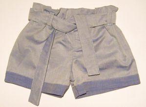 Short Jade coton effet jean