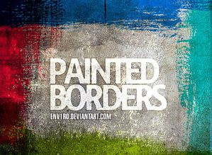 b-painted borders