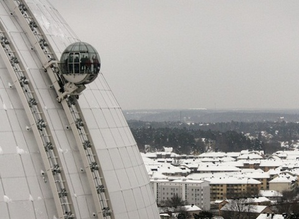 ascenseur panoramique Ericsson globe