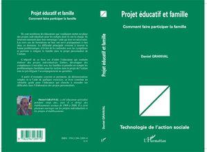 Projet éducatif et famille Couverture
