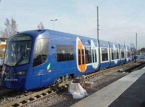 tram train T4 Bondy Aulnay