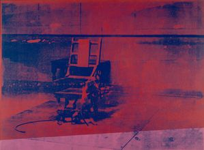 Andy Warhol - Big electric chair, 1967