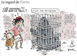 Burqa de Plantu