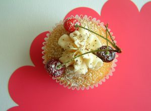 Cupcakes Fruits Rouges