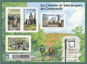 timbres compostelle2