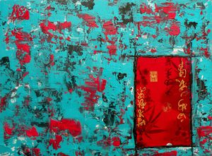 Chinoiseries bleues