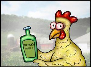 Poulet-au-Whisky