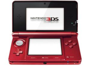 3DS - Flare Red