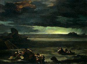 le déluge par Géricault