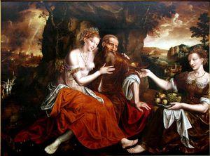loth et ses filles - v 1565 - Jan Massys -1531 - 1575 - Mus