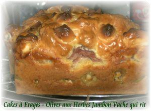 Cakes étages 3