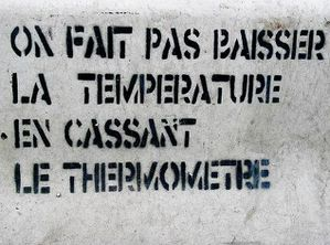 on fait pas baisser température en cassant le thermomètre