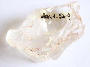 cristal de roche Dembeni 2000 (fouille Desachy)