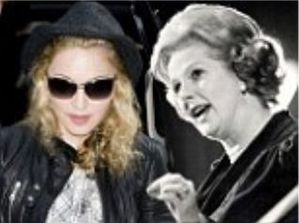 No need for sleep: Madonna and Margaret Thatcher