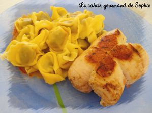 roulade poulet boursin