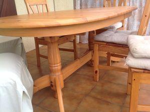 Relookage d 39 une table ik a en pin kakinou cr ation - Proteger une table en bois brut ...