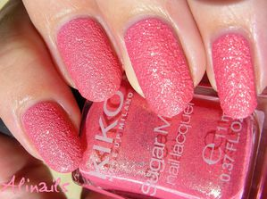 Kiko sugar mat 641 Strawberry Pink 2