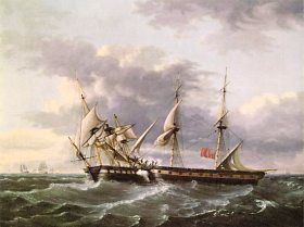USS Wasp VS HMS Frolic 18sep1812