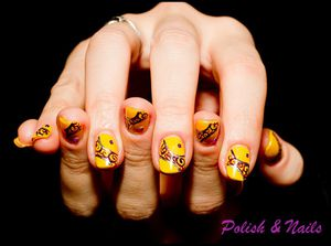 nail art jaune-6450-BorderMaker