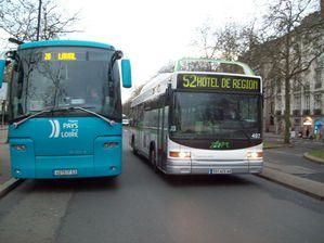 Autocar TER Hôtel de Région