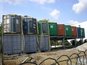 Enfin la premi re r alisation d 39 habitats en containers for Maison container aquitaine