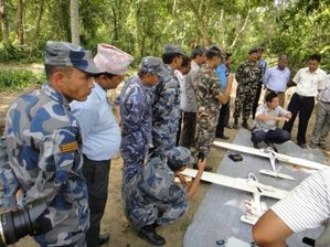 nepalese army drones