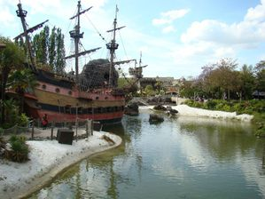 Disneyland Paris bateau pirates