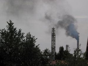 raffinerie fumée