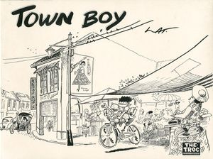 Town Boy - Couverture