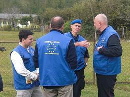 Observateurs européens en Géorgie: mission prolongée d'un an.