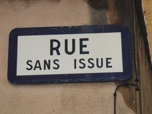 rue sans issue