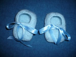 petits chaussons bébé garçon