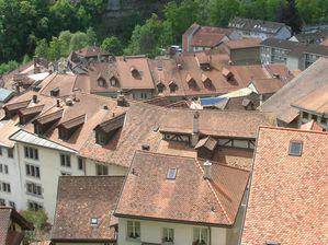 Les toits de Fribourg