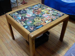 Decorer Un Plateau De Table Avec Des Cartons De Biere Deco A La Maison