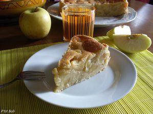 tarte paysanne aux pommes GF