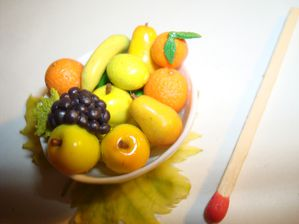 coupe de fruits miniature