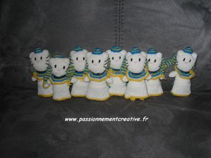 Hello Kitty pharaons les 8