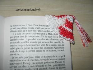 Marque pages coin