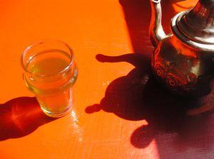 un thé au soleil