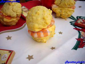 whoopie pies noel crevette