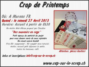 crop cap sur le scrap