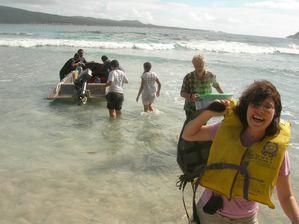 Samoa-24-27 mai 2010-Souad & boat