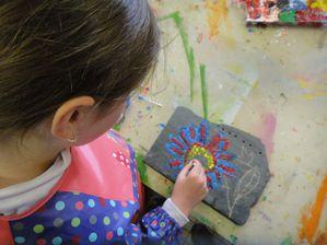 Atelier de Flo-Donchery-Peinture-aborigène6