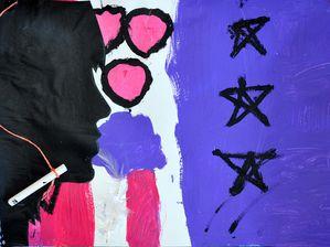 Flo Megardon Peinture Atelier Enfants Centre social Torcy 3